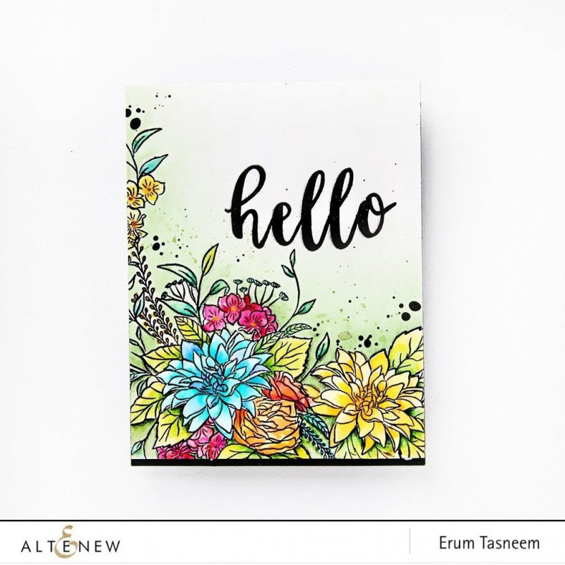 Altenew - Blooming Bouquet - Clear Stamps 6x8