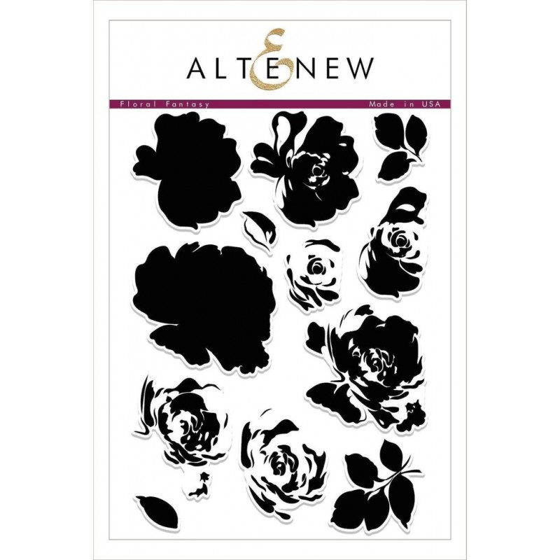 Altenew - Floral Fantasy - Clear Stamps 6x8