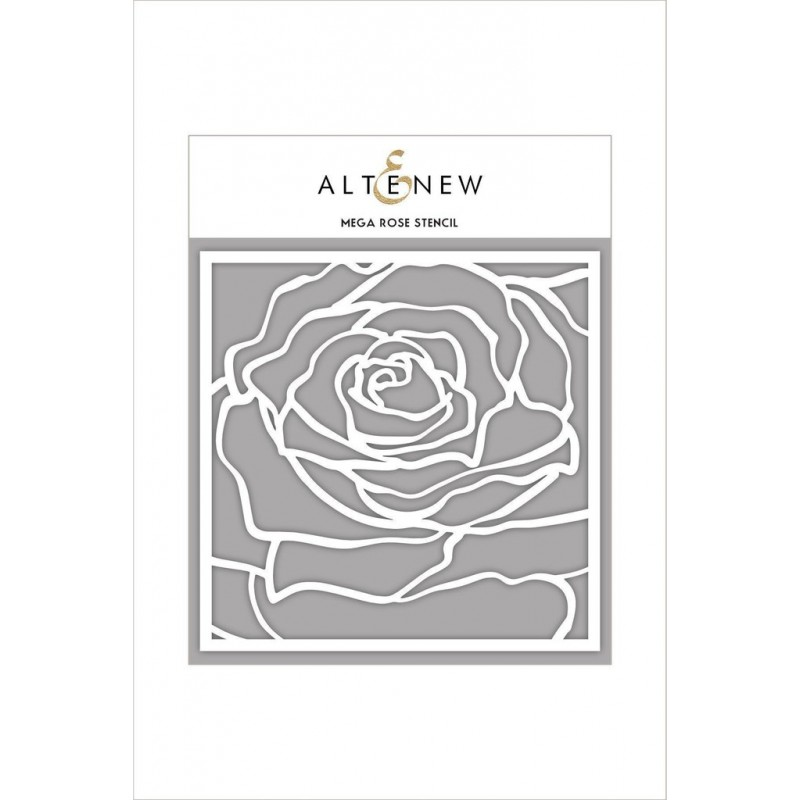Altenew - Schablone - Mega Rose