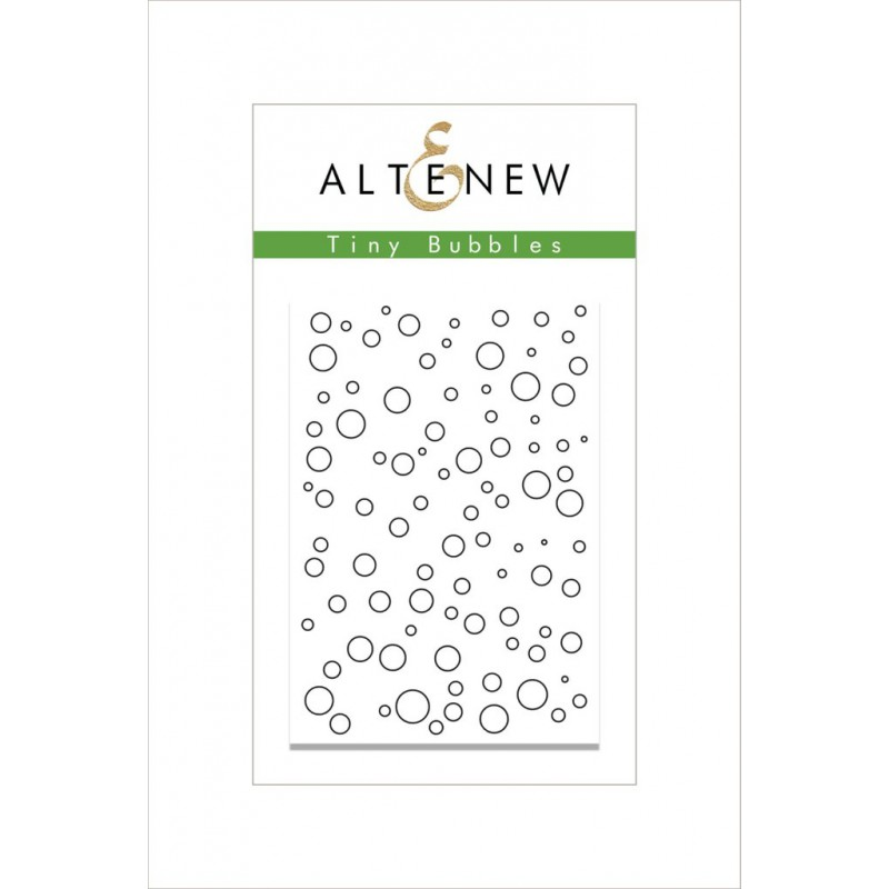 Altenew - Tiny Bubbles - Clear Stamps 2x3