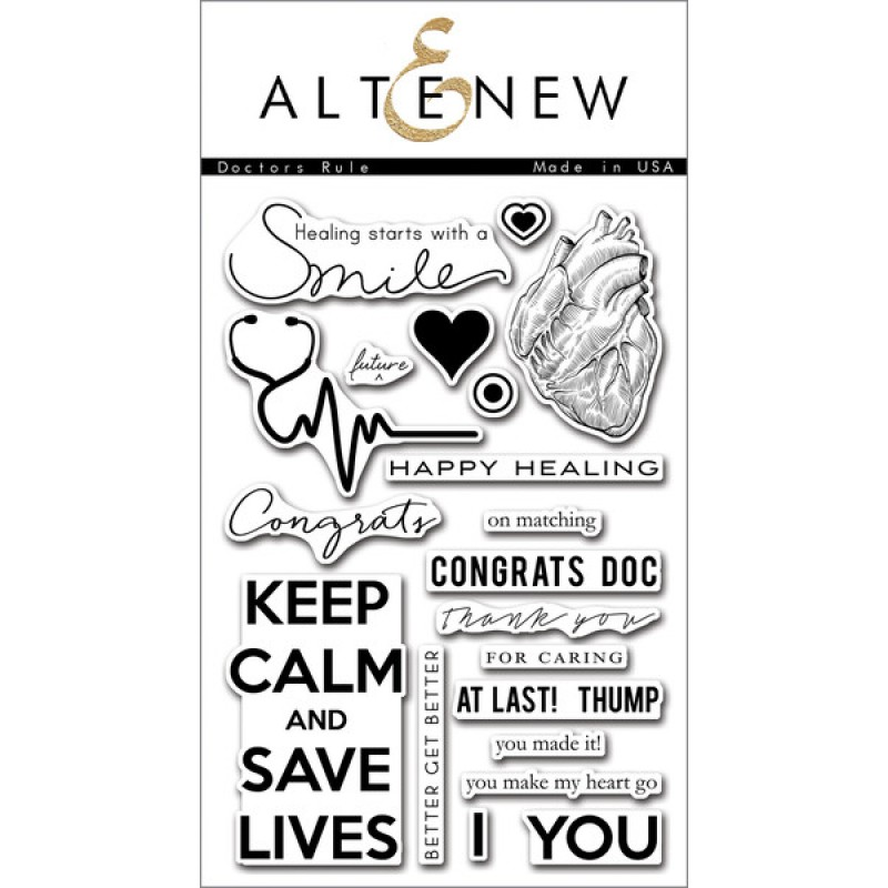 "Altenew - Stempelset 4x6"" - Doctors Rule"