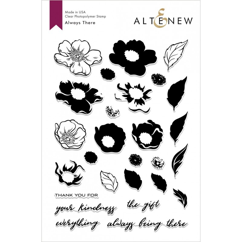 Altenew - Always There - Clear Stamp 6x8
