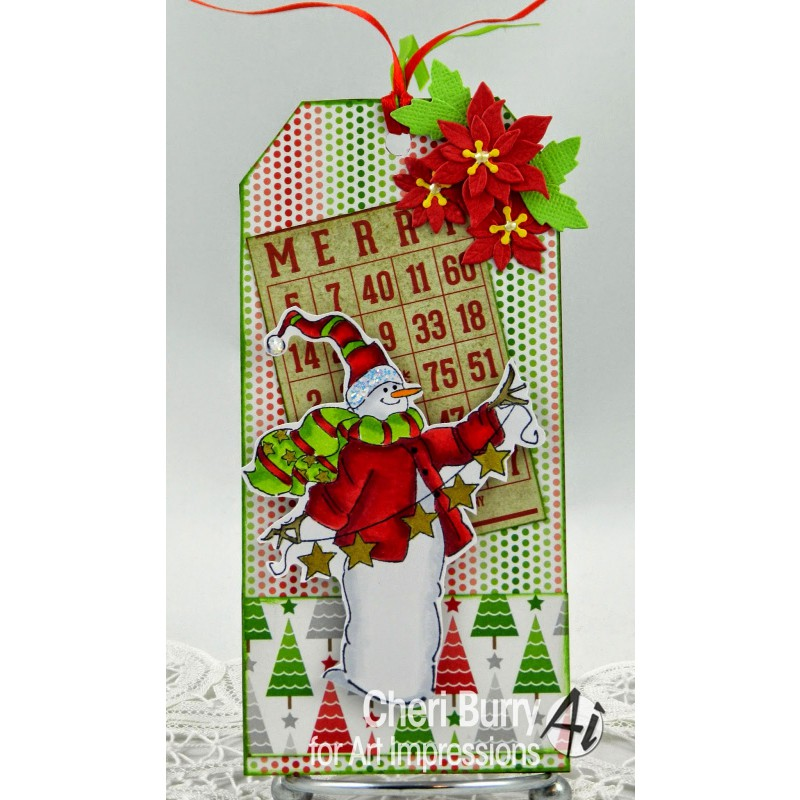 Art Impressions - Christmas to all Set - Rubberstamp Set