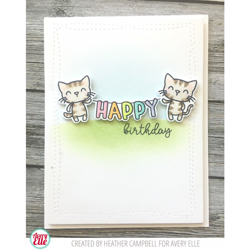 Avery Elle - Party Pals - Clear Stamp 4x6