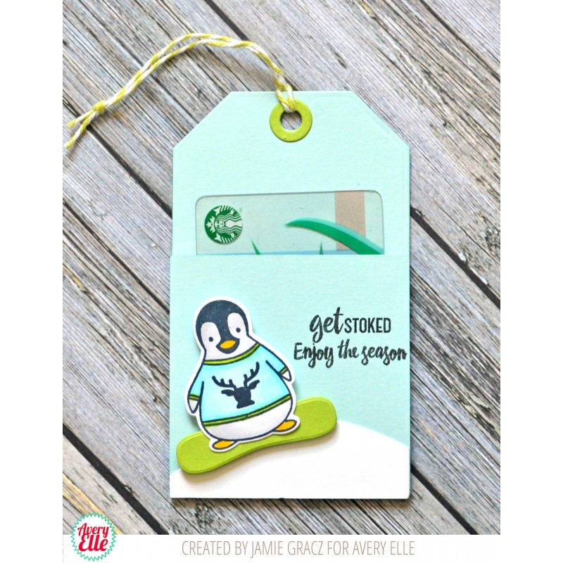 "Avery Elle - Stempelset 3x4"" -  Penguin Greetings"
