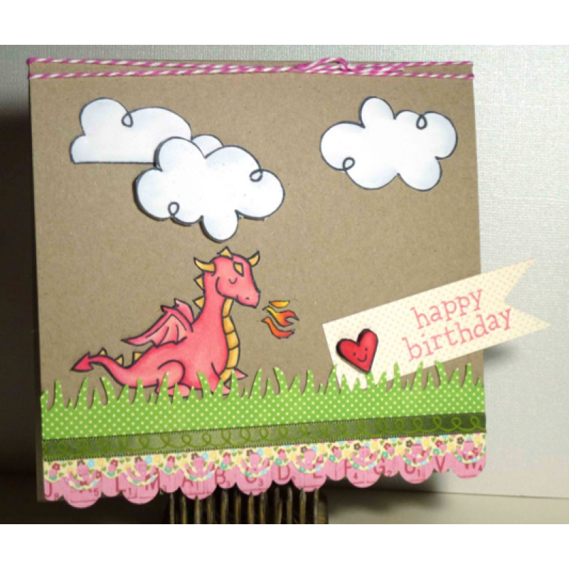 craft dies lawn fawn grassy border für scrapbook & cardmaking