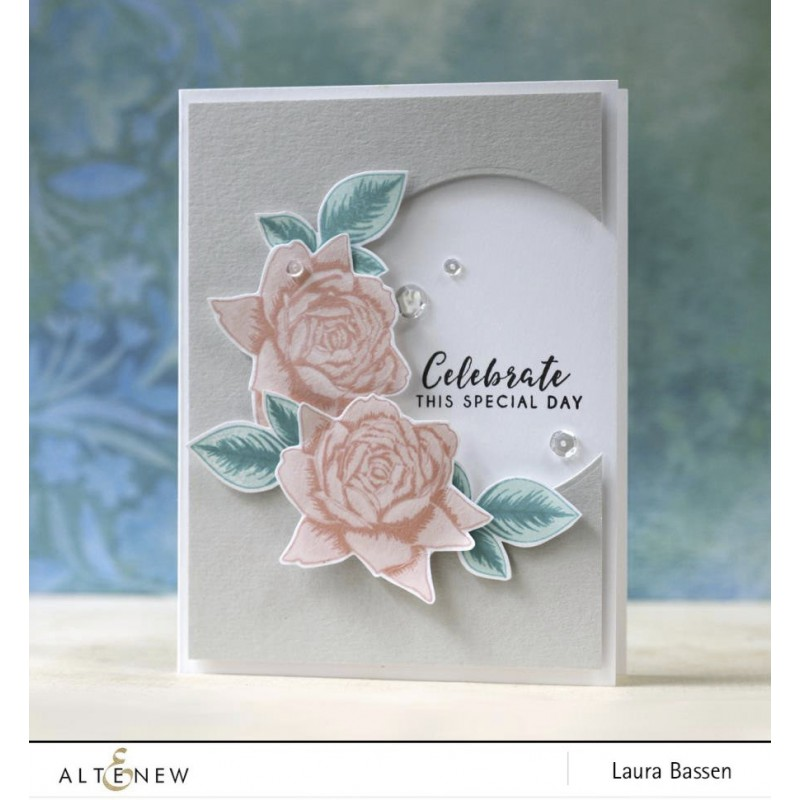 Altenew - Bold Blossom - Clear Stamps 4x6