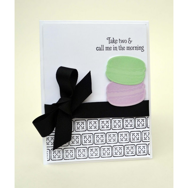 Avery Elle - bonjour - Clearstamps