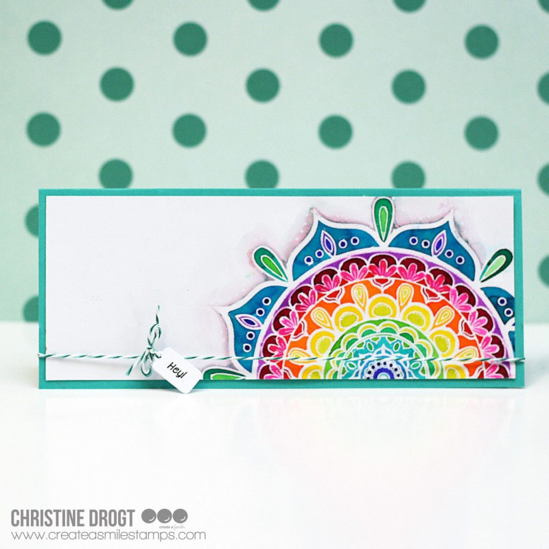 Create A Smile - Grüsse XS - Clear Stamps 3x4