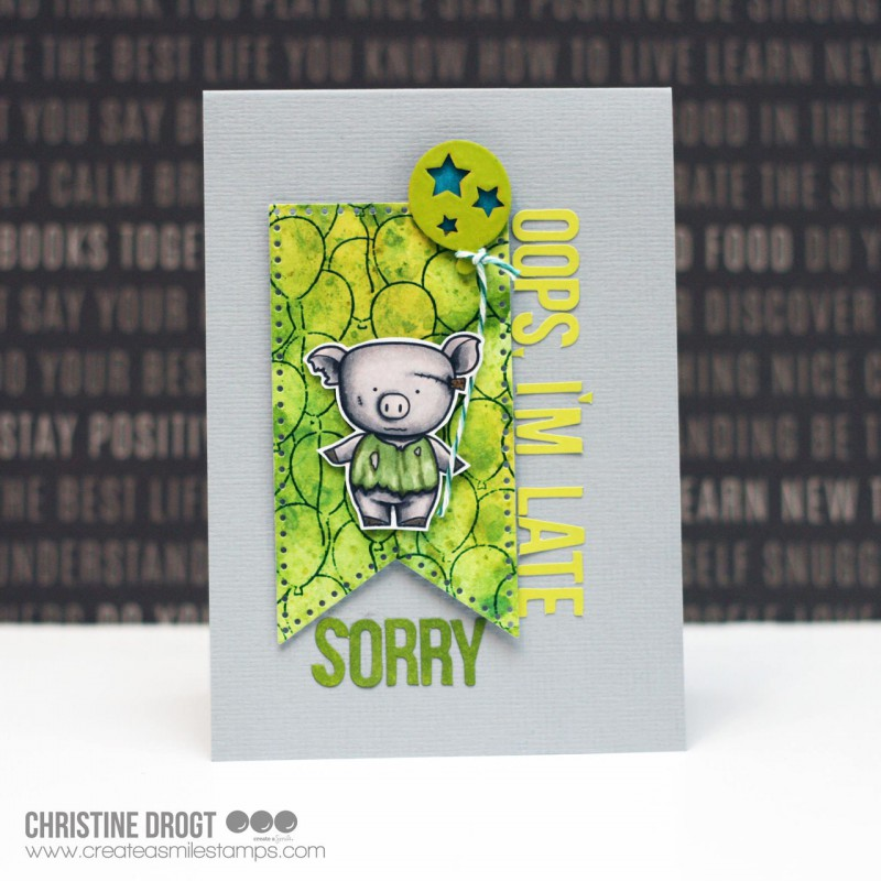 Create A Smile - Gruselig Bezaubernd - Clear Stamps 4x6