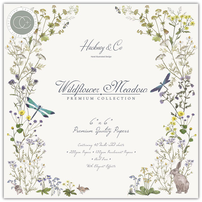 Craft Consortium - Paper Pad Wildflower Meadow 6x6
