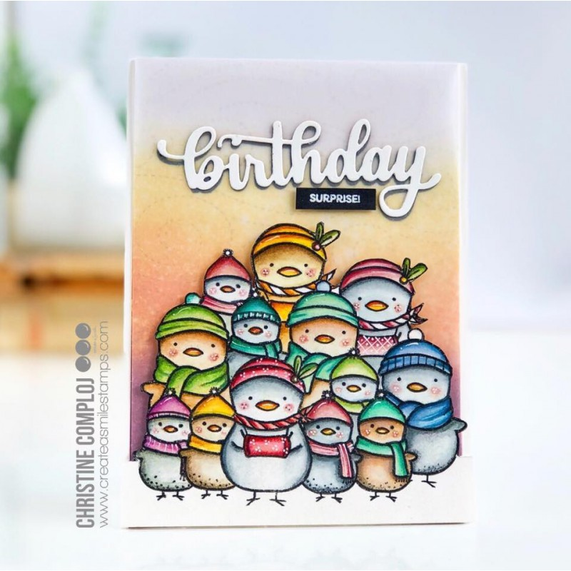 Create A Smile - Aus meinem Nest - Clear Stamps 4x6