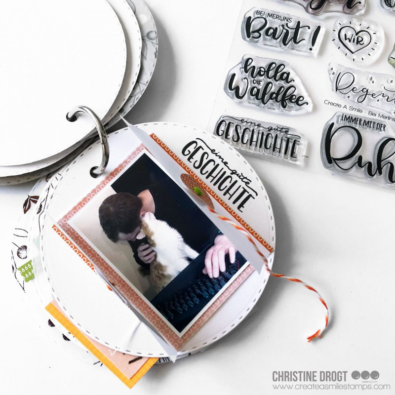 Create A Smile - Bei Merlins Bart - Clear Stamps 4x6