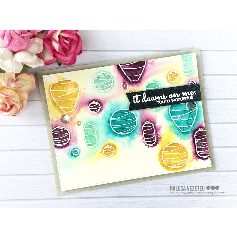 Create A Smile - Licht An! - Clear Stamps 4x6