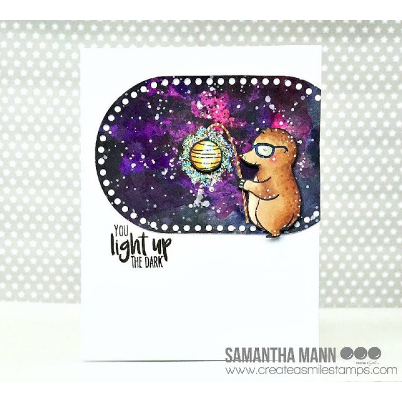 Create A Smile - Licht Ins Dunkel - Clear Stamps 3x4