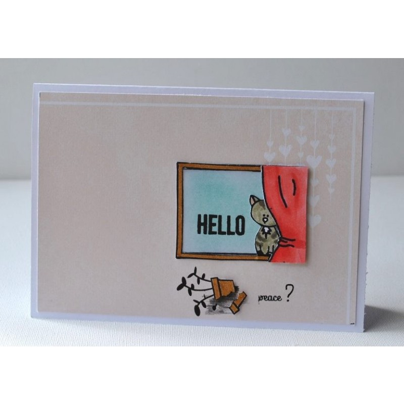 """Create A Smile - Stempelset 4x6"""" - Your View"""