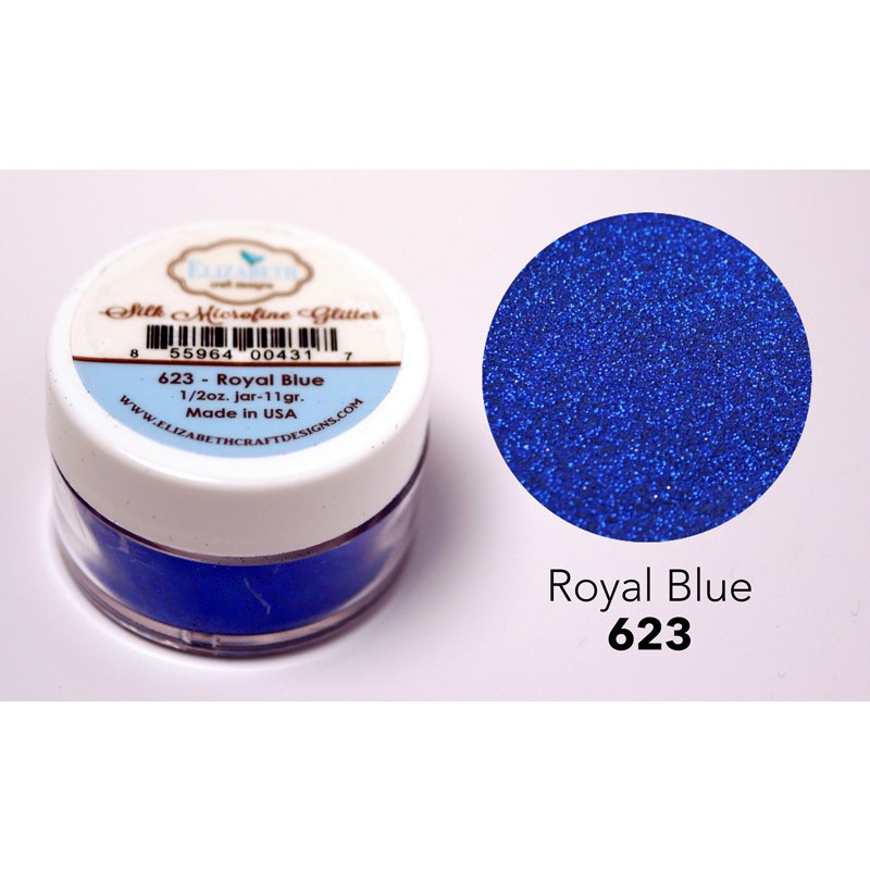 Elizabeth Craft Designs - Silk Microfine Glitter Royal Blue