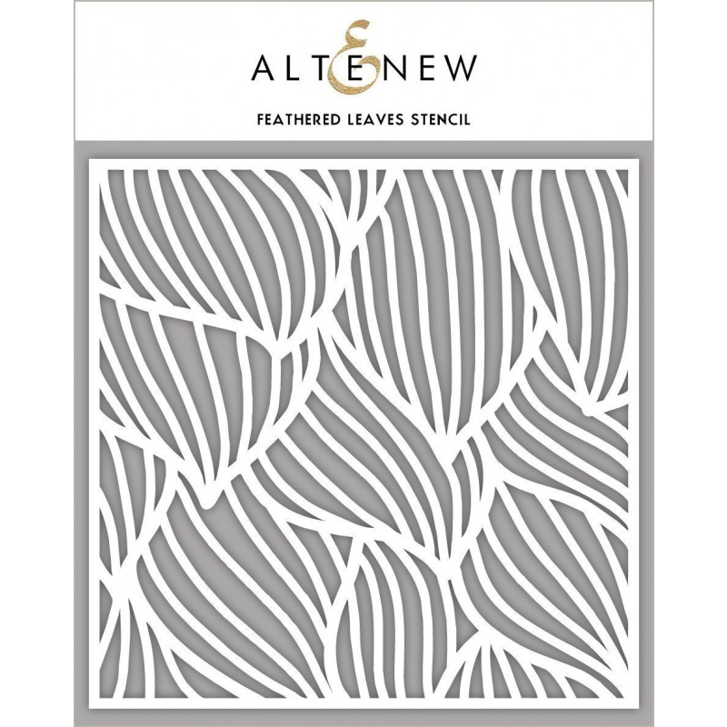 Altenew - Schablone - Feathered Leaves