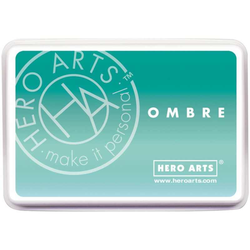 Hero Arts Ombré Ink Pad - Mint To Green