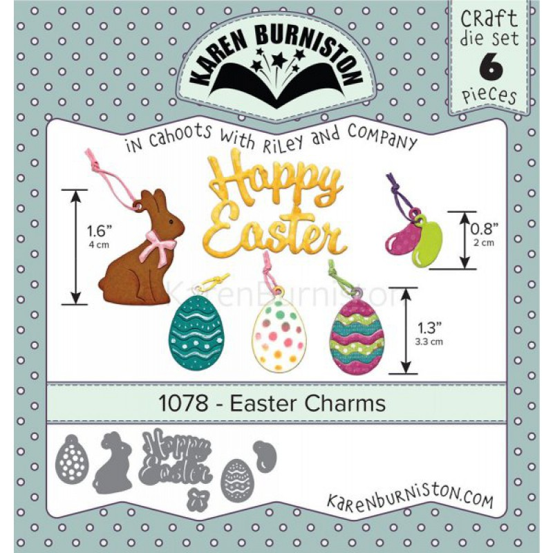 Karen Burniston - Easter Charms Stanzen