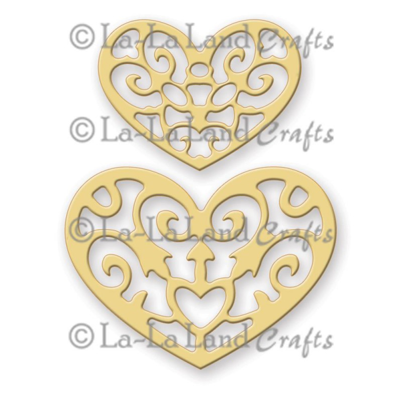 La-La Land Crafts Dies - Filigree Hearts