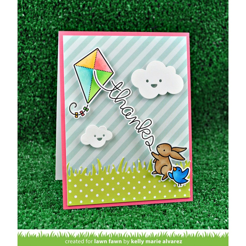 Lawn Fawn - Yay, Kites! Clear Stamp