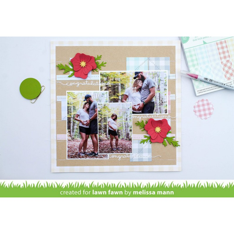 Lawn Fawn - Collection Pack 12x12 - Gotta Have Gingham