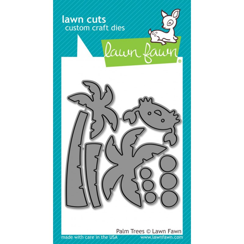 Lawn Fawn - Palm Trees - Stanze