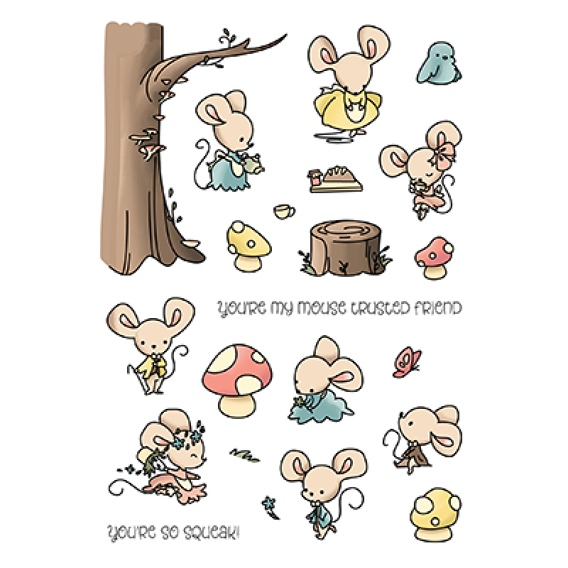 LDRS Creative - Clear Stamps - Trusted Friend