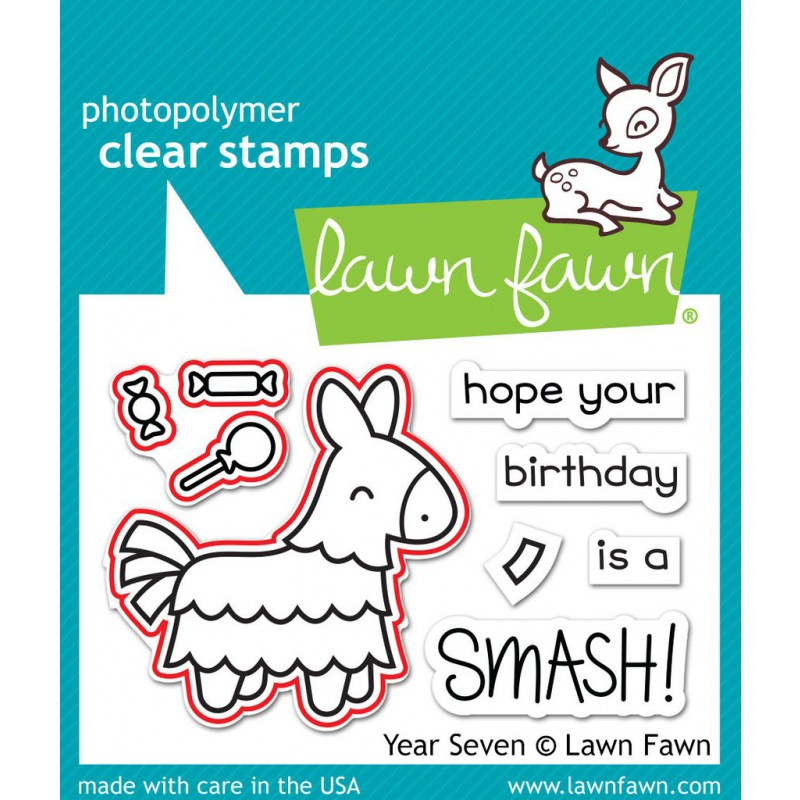Lawn Fawn - Year Seven - Stanze