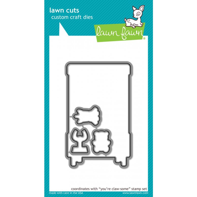 Lawn Fawn - You're Claw-some - Stanze
