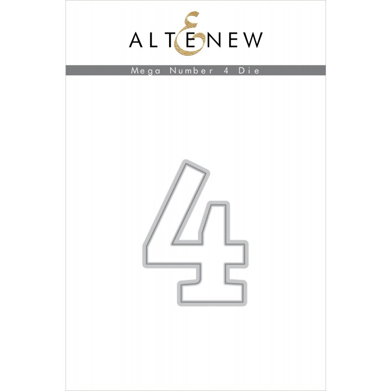Altenew - Mega Number 4 - Stanze