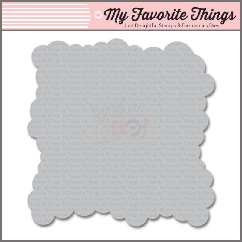 My Favorite Things - Essentials - Schablone - Mini Cloud Edges