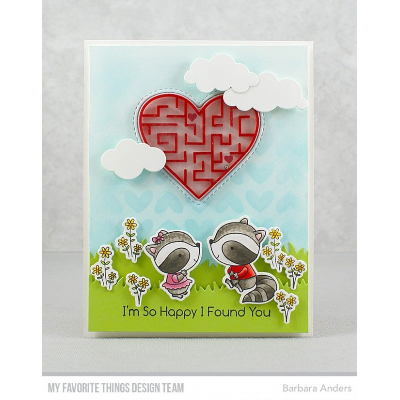 My Favorite Things - Schablone - Full of Heart