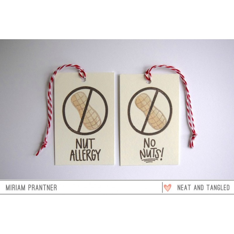 Neat & Tangled - No Nuts - Clear Stamps 3x4