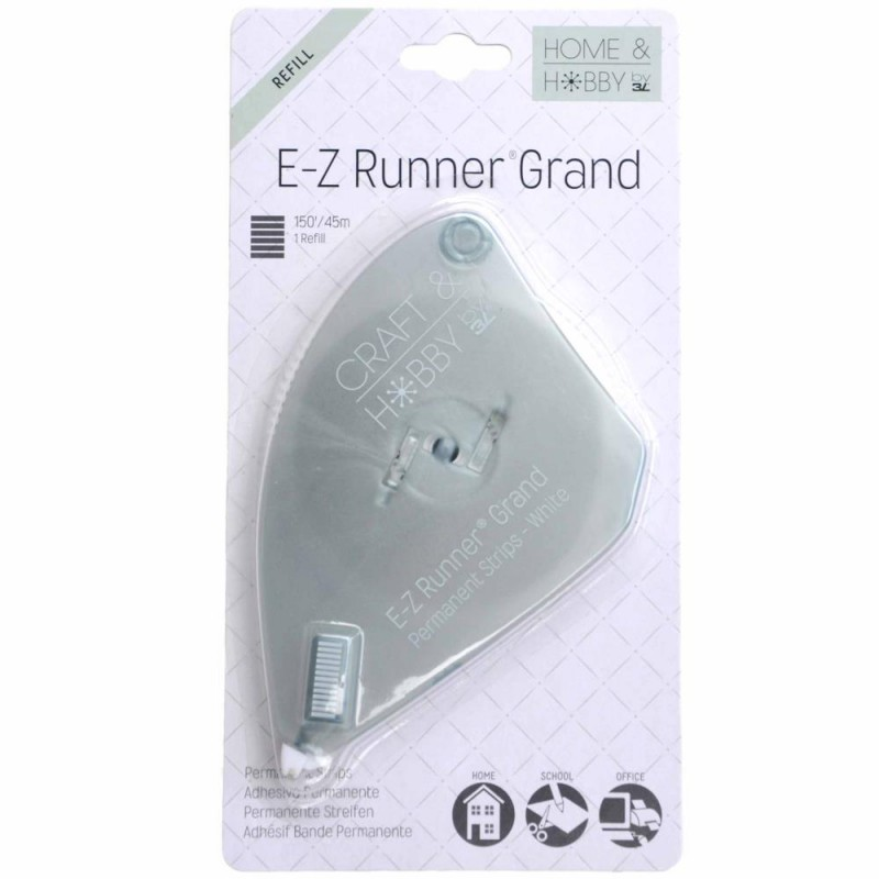 3L E-Z Runner Grand - Permanent Strips 45m Refill