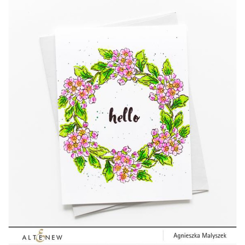 Altenew - Painted Greetings - Clear Stamps 4x6