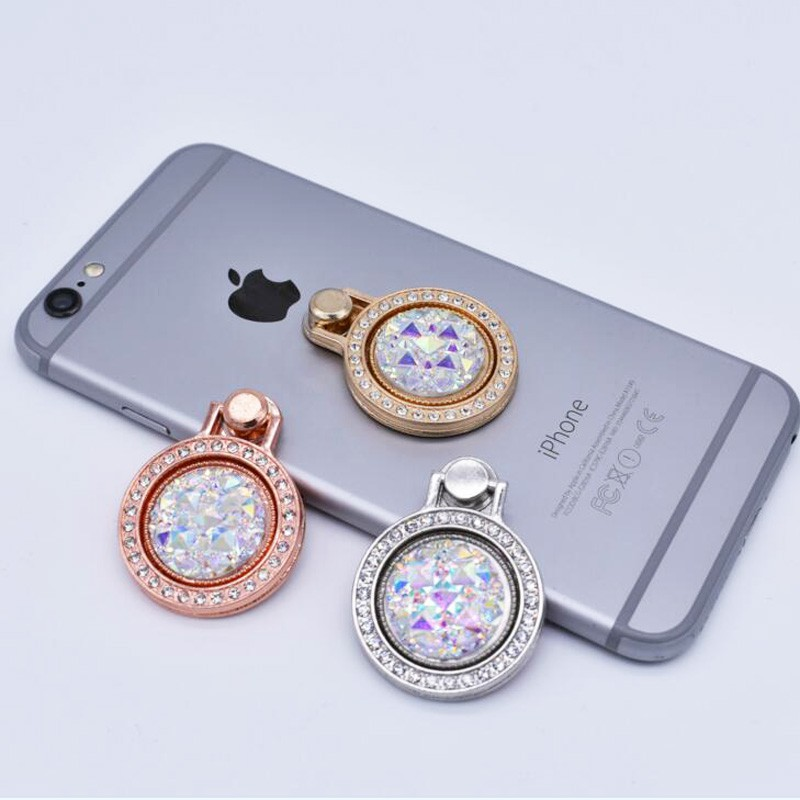 Popsocket - Diamantring - Silber