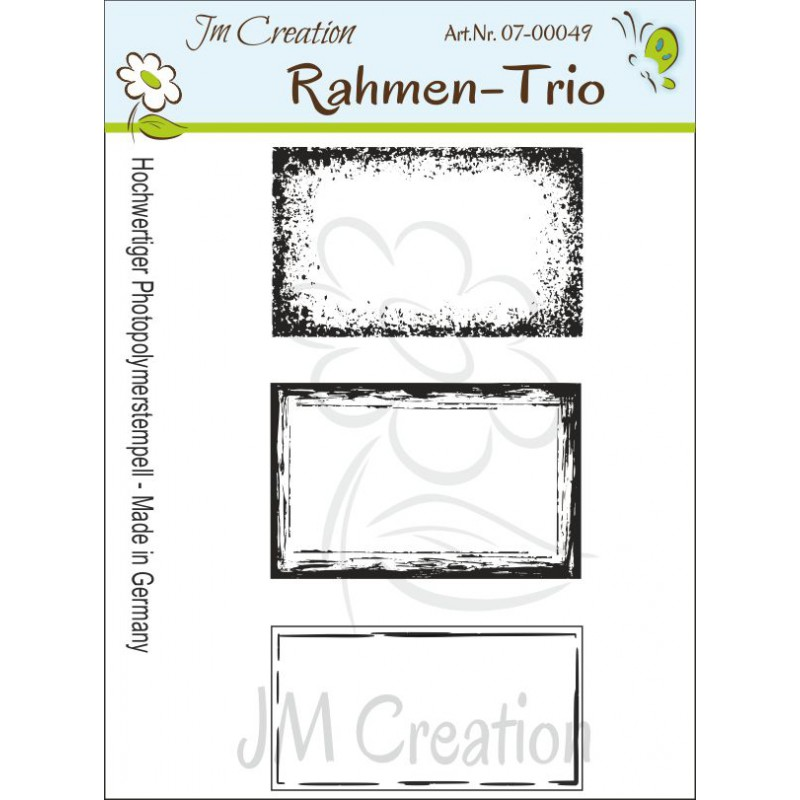 JM Creation - Rahmen-Trio - Clear Stamp