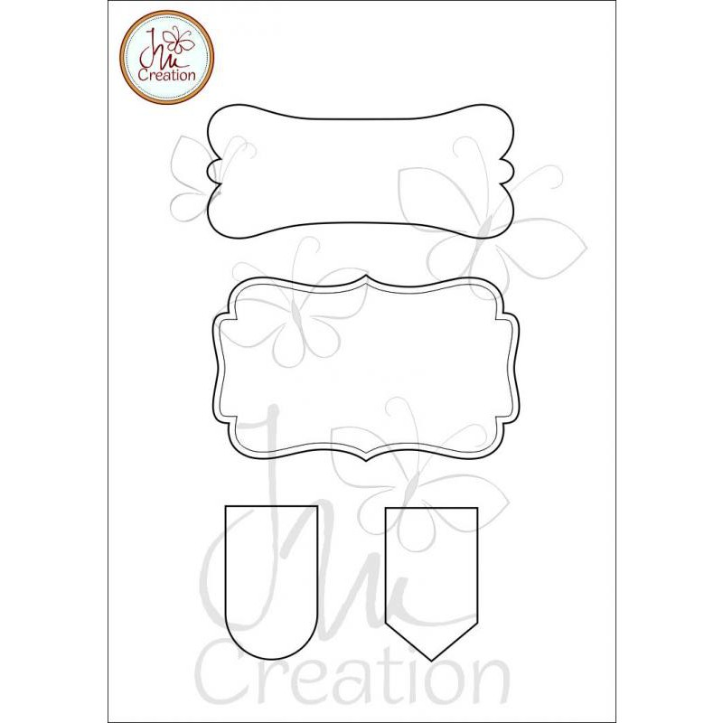JM Creation - Rahmen 1 - Clear Stamp