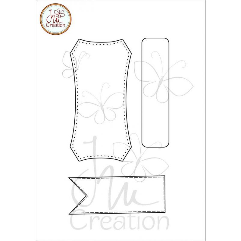 JM Creation - Rahmen 2 - Clear Stamp