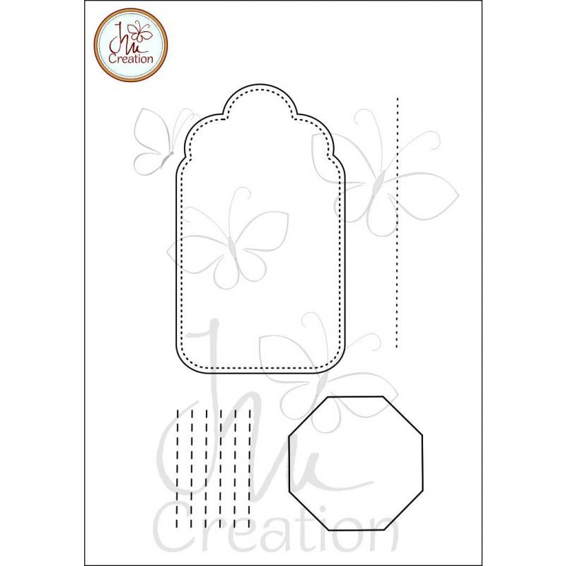 JM Creation - Rahmen 5 - Clear Stamp