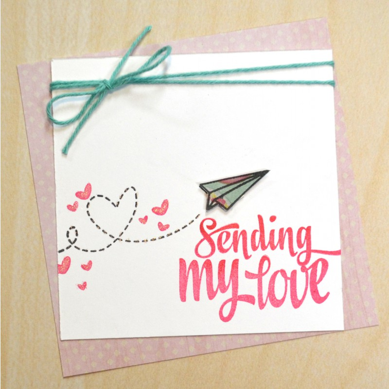 Avery Elle - sending you - Clearstamps
