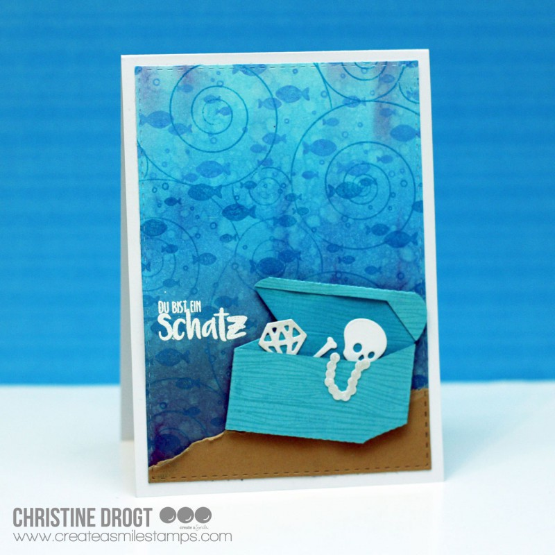 Create A Smile - Under The Sea Cling Stamp