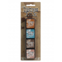 Ranger - Mini Ink Pad -  Tim Holtz Distress Ink Kit 6