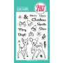 Avery Elle - Kitsch Christmas - Clear Stamps 4x6