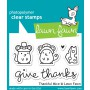 Lawn Fawn - Thankful Mice - Clear Stamps 2x3