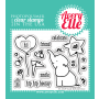 Avery Elle - Ellie - Clear Stamps 3x4