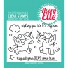 Avery Elle - Pegasus Duo - Clear Stamps 3x4