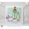 Avery Elle -Caroling Critters - Clear Stamp 4x6